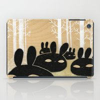 Suspicious Bunnies iPad Case