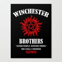 Winchester Brothers Canvas Print