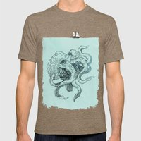 Beast Of The Deep Mens Fitted Tee Tri-Coffee SMALL