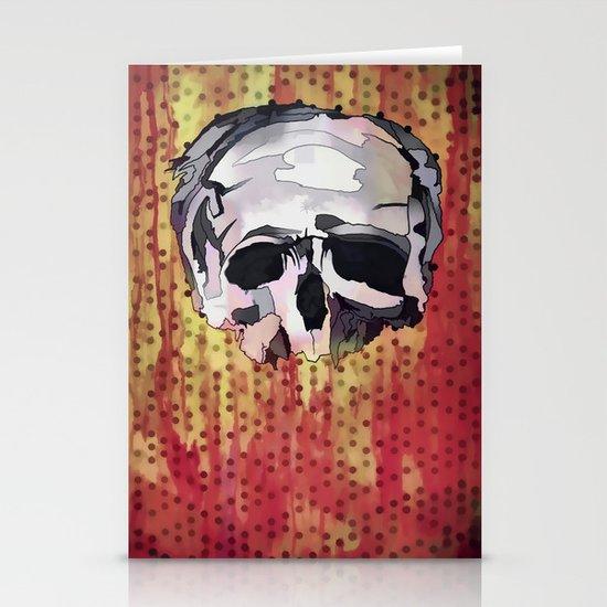 Skully. Stationery Card