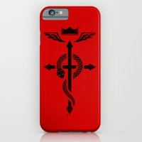 Fullmetal Alchemist Flamel - Black iPhone 6 Slim Case
