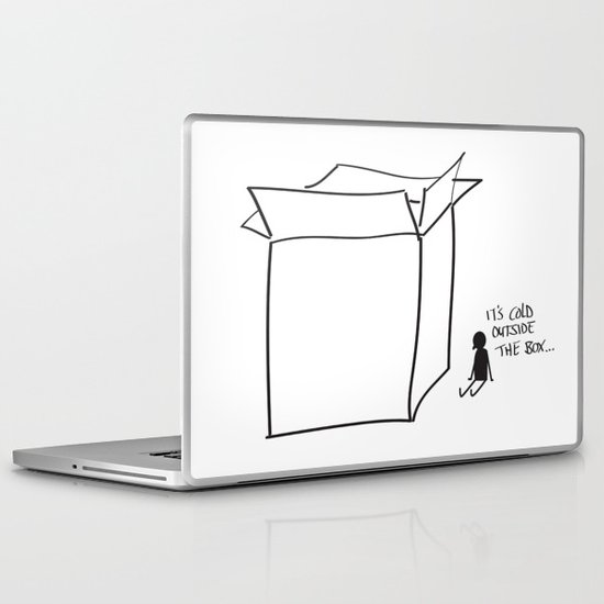 It's cold outside the box... Laptop & iPad Skin