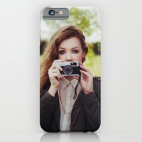 iPhone & iPod Case featuring Self-Portrait by LauraWilliams95
