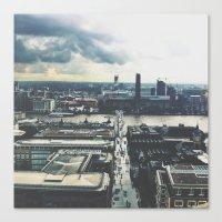 London Below  Canvas Print
