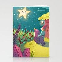 Twinkle twinkle little star Stationery Cards