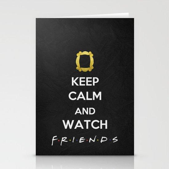 F.R.I.E.N.D.S - Keep Calm Stationery Card