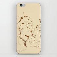 Alice Stuck In The Wonde… iPhone & iPod Skin