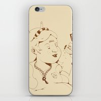 Alice stuck in the wonderland ! iPhone & iPod Skin