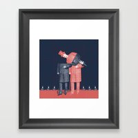 Menswear Framed Art Print