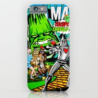 iPhone & iPod Case featuring the Tenacious Tinman (COVER VARIANT) by Gimetzco's Damaged Goods