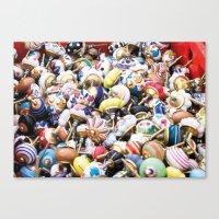Turkish Door Knobs Canvas Print