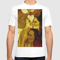 The Lovers Mens Fitted Tee White SMALL