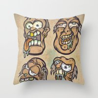 FOURHEADS ARE BETTER THAN ONE Throw Pillow