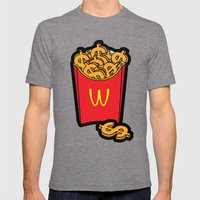 Pop Icon - Warhol Mens Fitted Tee Tri-Grey SMALL