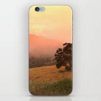 Early Fog In The Hills iPhone & iPod Skin