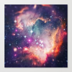 The Universe under the Microscope (Magellanic Cloud) Canvas Print