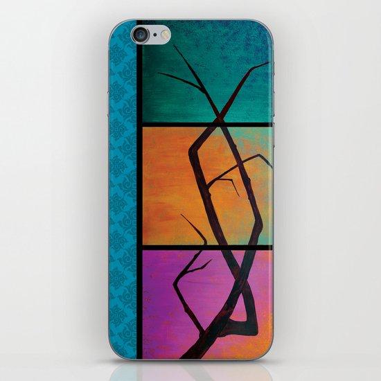 tree painting iPhone & iPod Skin