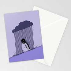 Heavy Rain Stationery Cards