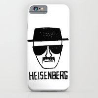 iPhone Cases featuring Heisenberg - Breaking Bad Sketch by Bright Enough💡
