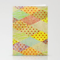 SPONGE CAKE / PATTERN SERIES 001 Stationery Cards