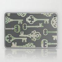 Skeleton Key Pattern In … Laptop & iPad Skin
