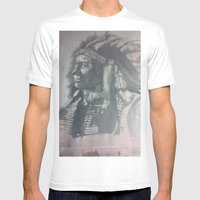 Indian Spirit Mens Fitted Tee White SMALL