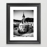The Katholikon at Putna Monastery, Romania Framed Art Print