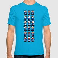 Bomberman Mens Fitted Tee Teal SMALL