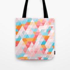 Crumbling triangles Tote Bag