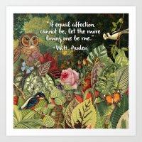 Garden Quote Art Print