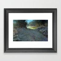 A Winter's Walk Framed Art Print