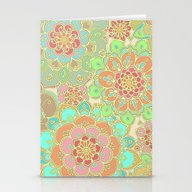 Stationery Cards featuring Summer Greens by Micklyn