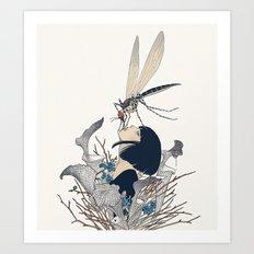 Entomophagy #1 Art Print