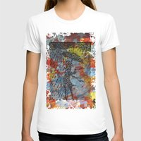 rainy day 1 Womens Fitted Tee White SMALL