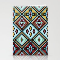 NATIVE AMERICAN PRINT Stationery Cards