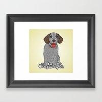 Dog Style Framed Art Print