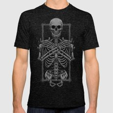 Inside of You Mens Fitted Tee Tri-Black SMALL