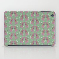 pattern with dragonflies 5 iPad Case