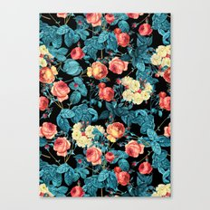 NIGHT FOREST XII Canvas Print
