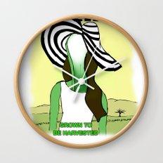 LANA CEL ERY Wall Clock