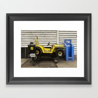 Untitled, Jeep Ride Framed Art Print