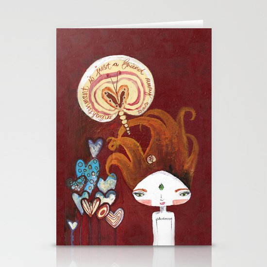 Friends-4-ever Bhoomie Stationery Card