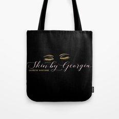 georgia logo in black Tote Bag