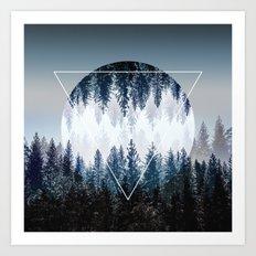 Woods 4 Art Print
