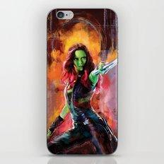 Gamora iPhone & iPod Skin