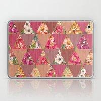 GEOMETRIC MODERN FLOWERS Laptop & iPad Skin