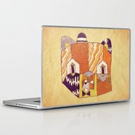 Mr Bear Laptop & iPad Skin