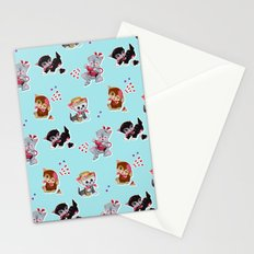 Zombie Cats Stationery Cards