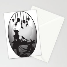 You're One Of Them, Aren't You? Dark Romance Valentine Stationery Cards