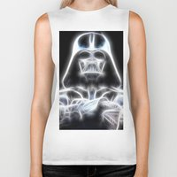 Darth Vader Electric Ghost Biker Tank